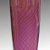 Tall purple vase x8