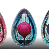Jewel Egg Paperweight