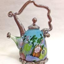 Jewel Teapot Aqua
