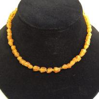 Flower Bead Amber web