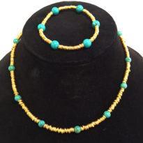Hishi Turquoise set