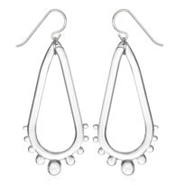 Tear Drop Wheel Earrings